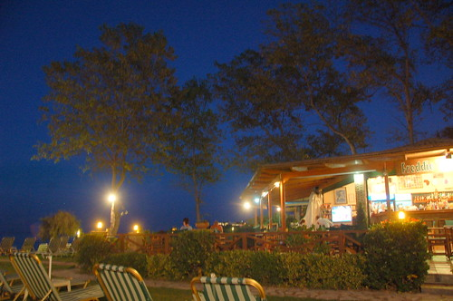 Freddies Bar at Night