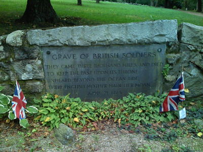 Graves of the British Soldiers