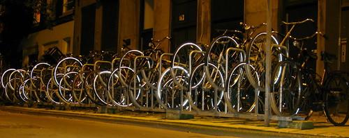 Blinking Bikes