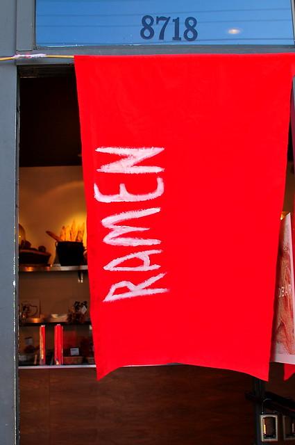 Yatai Ramen Twist at Bread Bar - Los Angeles