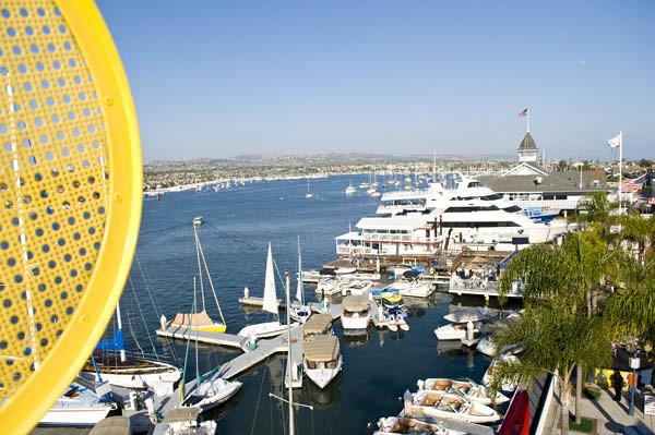 Balboa Island Ferris Wheel View