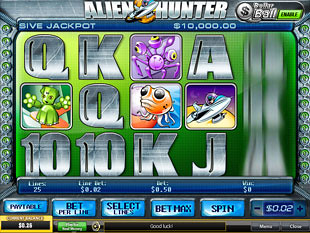 Alien Hunter slot game online review