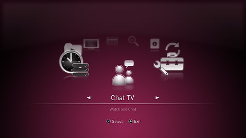 PlayTV -Main Menu Chat