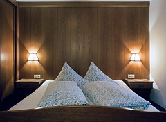 (Gebhart de Koekkoek) Tags: mountains film hotel austria bed bedroom couple sleep room double doublebedroom
