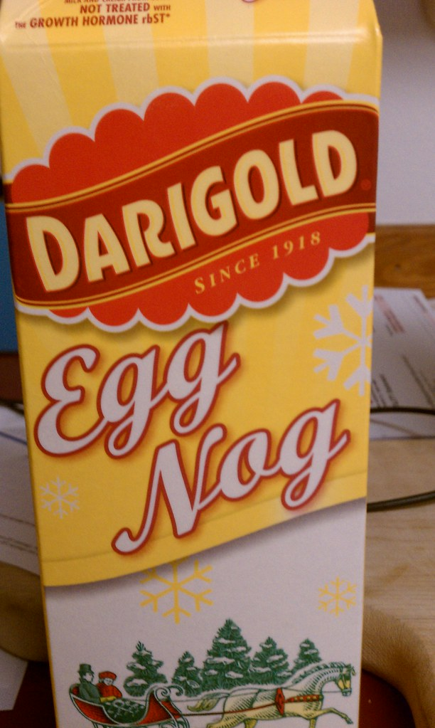 Eggnog! Fuck ya!