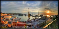 Porto di Ancona _ pano _ (otrocalpe) Tags: panorama 350d pano porto hdr ancona 4x3 istantfave otrocalpe