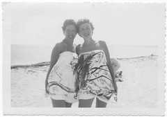 Two Girls in a Beach towel