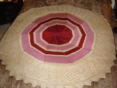 Marina's Baby Blanket (KnottyGirlLa) Tags: baby blanket pinwheel knitted