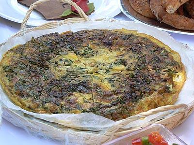 omelette roquette....jpg