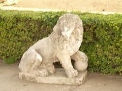 Lion Statue (NoteBookLove) Tags: choochoo
