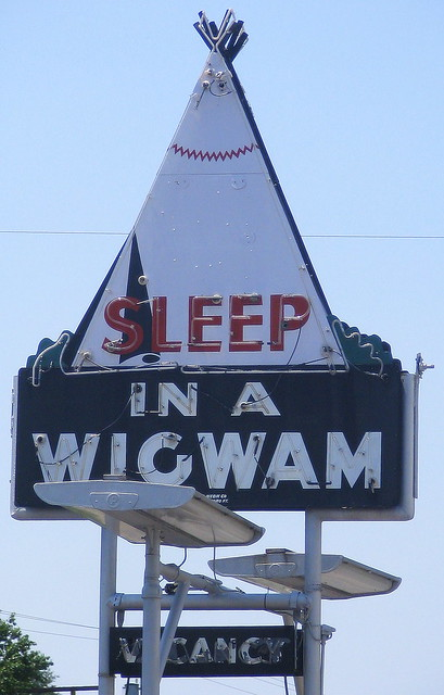 Sleep in a Wigwam