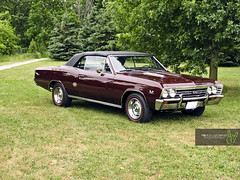 1967 Convertible Chevelle Super Sport (Rock Steady Images) Tags: ontario canada car ss convertible chevelle chevy 200views restoration 500views 50views 67 alliston 25views 7pointsystem bypaulchambers rocksteadyimages
