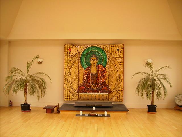 Brighton's main shrine   painting by Aloka