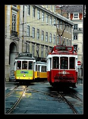 TramCars (lighttripper) Tags: portugal europe lisboa lisbon tram transportation
