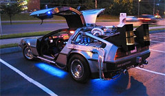 DeLorean DMC12 Back To The Future Replica