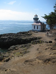 Lighthouse at Lime Kiln Point Park
