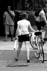 legz r tite (damonabnormal) Tags: woman hot sexy art philadelphia canon arty legs candid july babe phl 07 sexylegs 2007