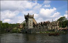 Flying dutchman (view large please) (Jukkie) Tags: water netherlands flying ride story amusementpark rollercoaster efteling myth dutchman prekpark