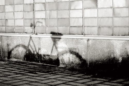 fahrrad schatten