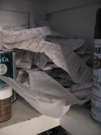 renovation receipts