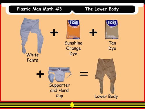 Plastic Man Math #3 - The Lower Body