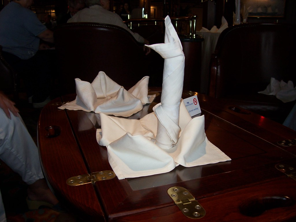 Results of Napkin Folding Class