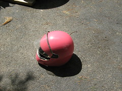 The Finnished Pink Helmet