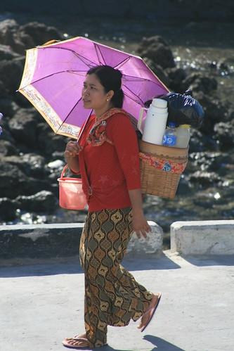 Street Vendor, Kupang