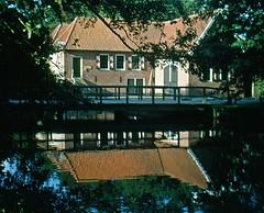 Twente (George*50) Tags: holland mill water netherlands reflections woods nederland thenetherlands fujichrome watermill twente scannedslide denekamp blueribbonwinner singraven mywinners impressedbeauty hpscanjetg4010