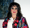 Colorful Silk Jacket (Christine Fantasy) Tags: feminine silk makeup christine fantasy transvestite crossdresser transsexual shemale