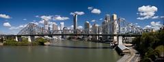 Story Bridge Panorama (Cyron) Tags: bridge panorama geotagged photo australia brisbane qld queensland brisbaneriver storybridge 2007 cyron kangaroopoint pc4169 geo:tool=gmif geo:lat=27462600 geo:lon=153038108
