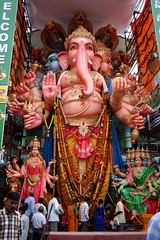 Ganesh Chaturthi (anaxila) Tags: india ganesh hyderabad andhrapradesh ganeshchaturthi lpfestasiapacific ganeshimmersion
