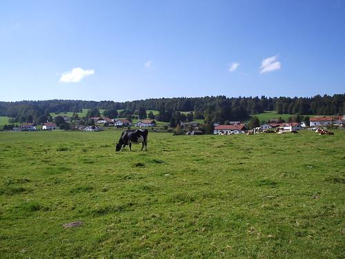vue de notre village
