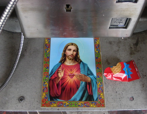 sacred heart of jesus w nutter butter wrapper