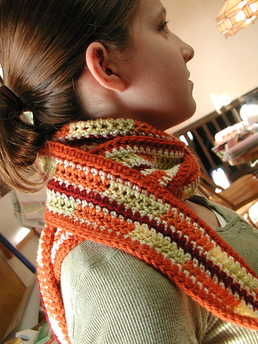 Crocheted Scarf