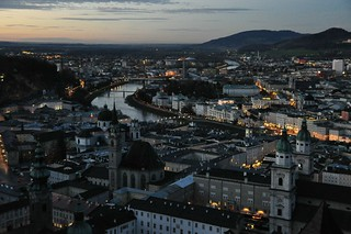 Sinikuldne Salzburg