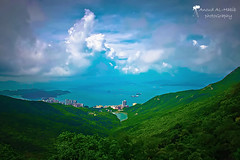 ( Anoud Abdullah AlHabib) Tags: hong kong sea sky clouds canon eos 500d all right reserved