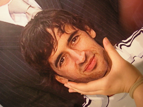 Raul Gonzalez in my hand :)
