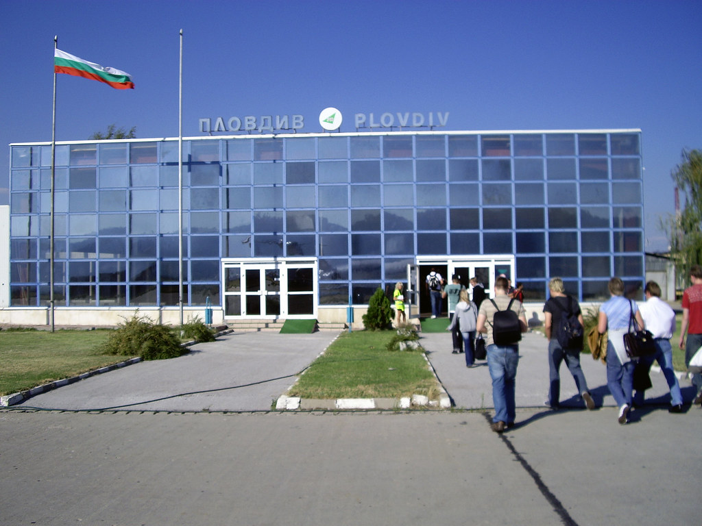 Plovdiv Airport fa?§ade by christianrasmussen, on Flickr