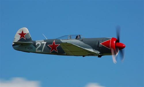 Warbird picture - Yak 9 UPW