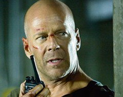 John McClane talk