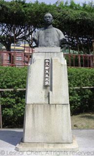 萊園-林允卿銅像