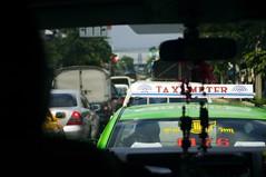 traffic jam in Bangkok (No MSG) Tags: travel summer vacation thailand asia southeastasia tour bangkok shuttle van visitors trafficjam 2007