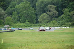 Pacing the field at Lime Rock Park