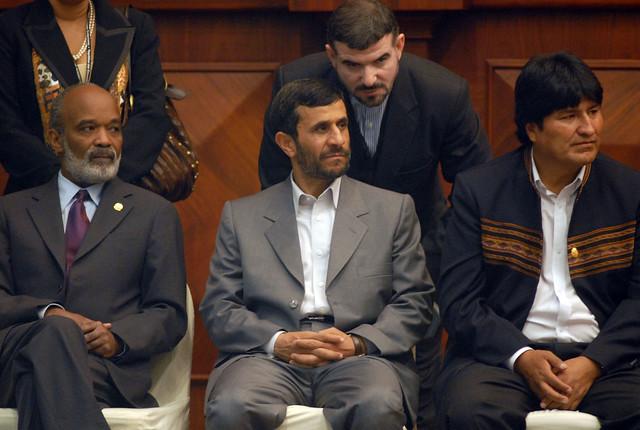 Evo Morales Irán