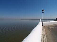 Horizon (isolano.) Tags: portugal river horizon tejo tagus alcochete