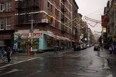 Mulberry & Grand Streets - Little Italy - New York by jenniferrt66, on Flickr