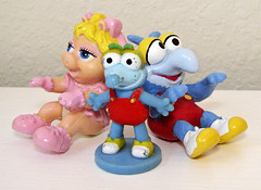 Muppet Babies Toys (sciencensorcery) Tags: toys 80s eighties figures gonzo misspiggy muppetbabies