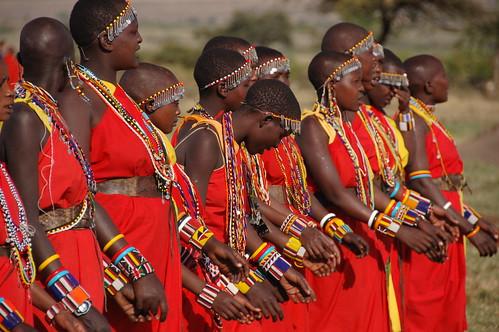 Tribu Masai en Masai Mara