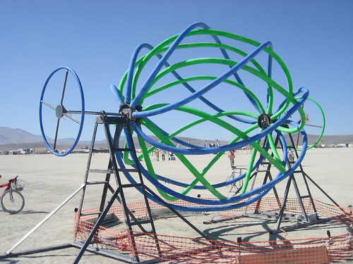 Crazy Spin Toy, Burning Man 2007